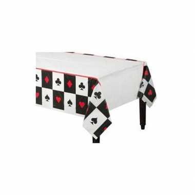 Casino tafelkleed 137 x 259